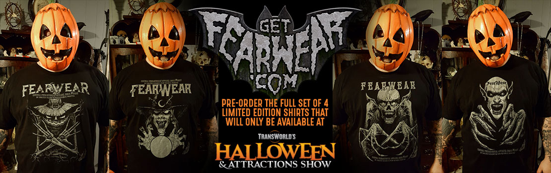 FearWear Special Giveaway at TransWorld's Halloween & Attractions Show